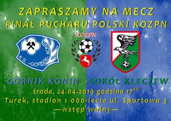 Mecz: Finał Pucharu Polski  KOPZN - Górnik...