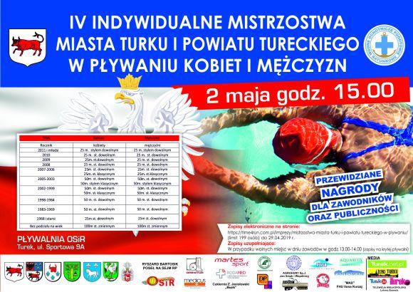 IV Indywidualne Mistrzostwa w Pływaniu