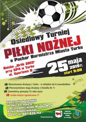 Osiedlowy Turniej Piłki Nożnej 2019