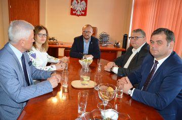 Andrzej Grzyb z wizytą w Turku w ramach wyborów do Parlamentu Europejskiego