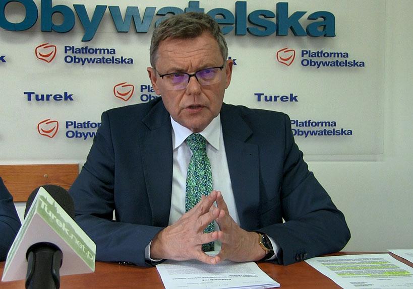 Wideo: Niepokojące sygnały o zadłużeniu szpitala w Turku głównym tematem konferencji Posła Nowaka