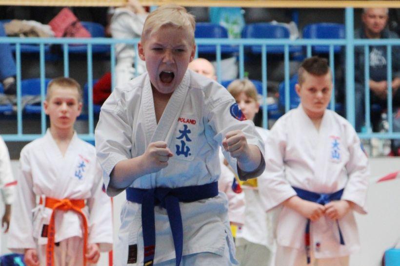 Sukces zawodników Klubu Oyama Karate na Mistrzostwach w Kole