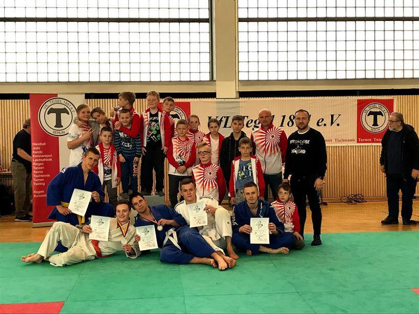 Judocy z Brudzewa zdobyli medale w Berlinie