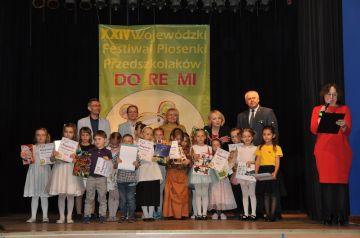 Festiwal Do-Re-Mi. Przedszkolaki zaprezentowały...