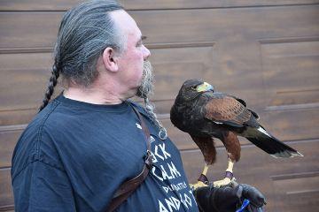 Drapieżne ptaki oraz spotkanie z Markiem...
