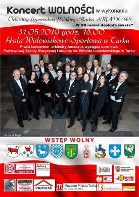Koncert orkiestry Amadaus Polskiego Radia w Turku