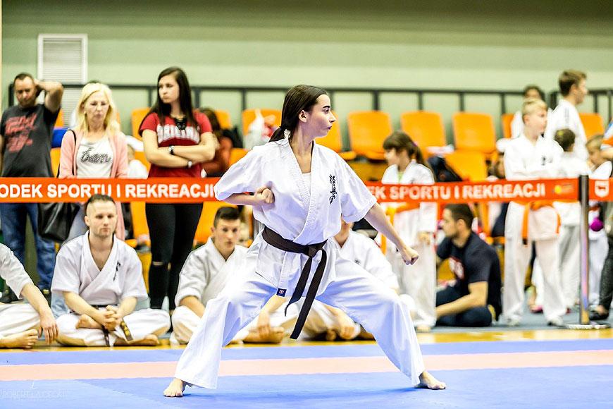 XX jubileuszowy Puchar Wielkopolski Karate - zdjęcia sensei Robert Łajdecki