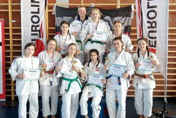 UKS Judo Tuliszków na turnieju w Lesznie