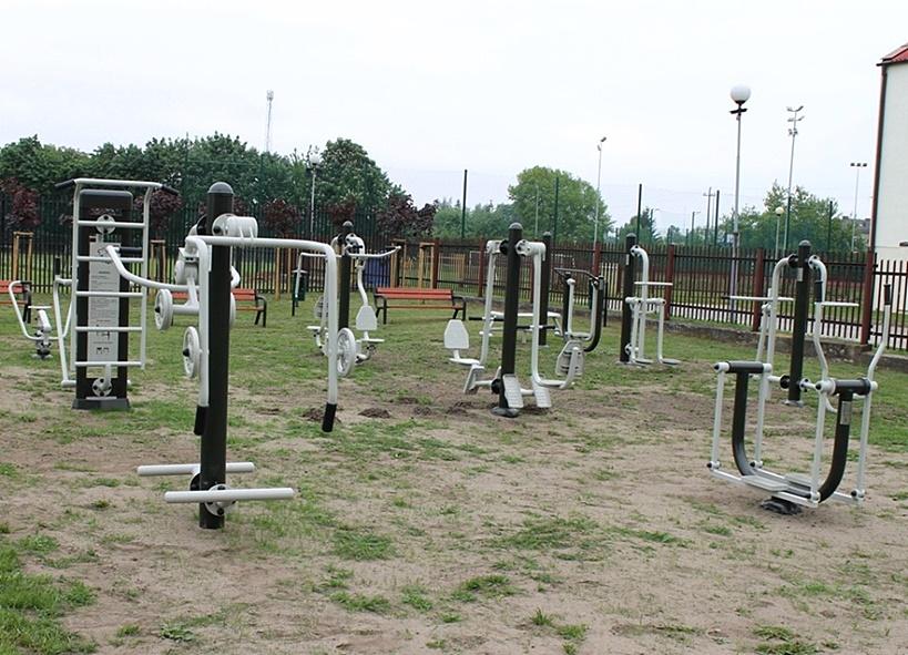 Dawka sportu dla każdego - powstała nowa siłownia na stadionie - Źródło: Miasto Turek