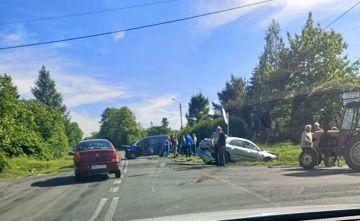 Kolejny wypadek na skrzyżowaniu w Ciemieniu. Jedna osoba poszkodowana. - foto nadesłane przez czytelników