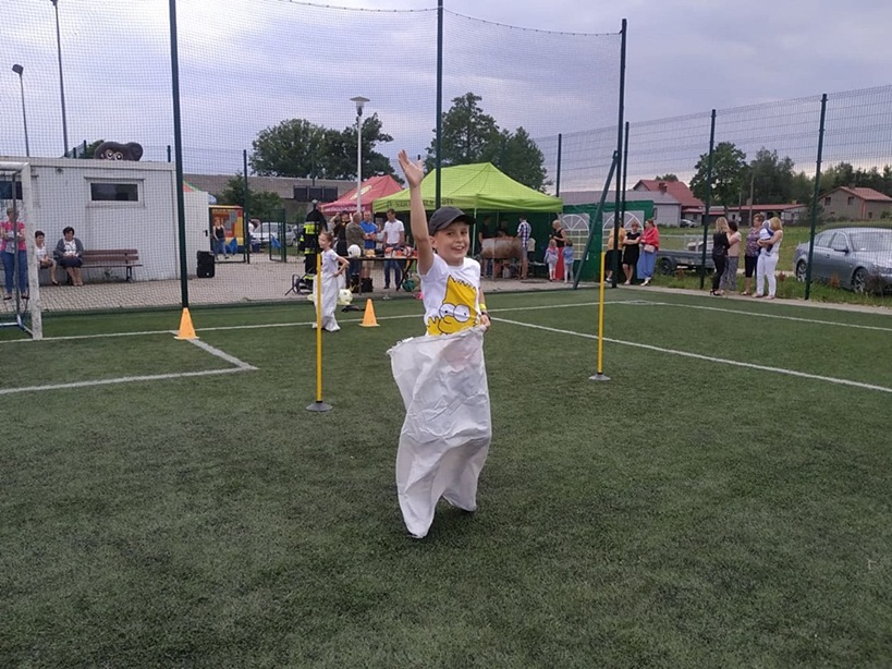 Żyj zdrowo na sportowo - piknik rodzinny w Miłaczewie - foto: JM