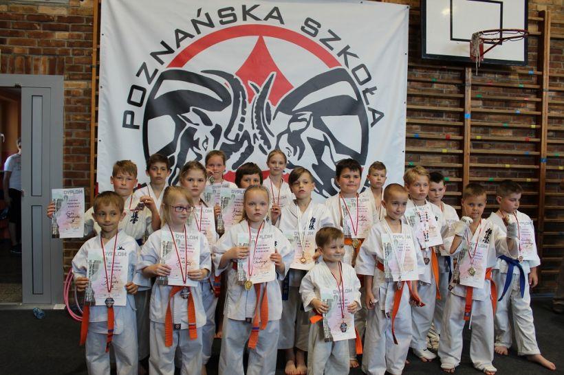 Sukces turkowskich karateków na II Pucharze Poznańskich Koziołków