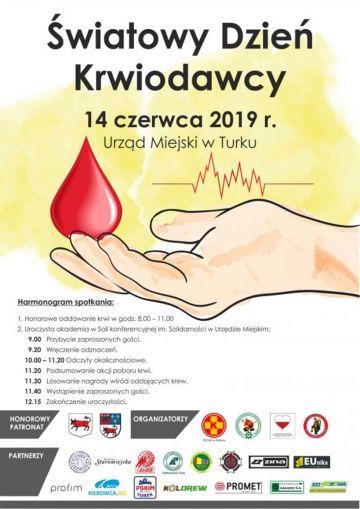 Łączy nas krew, która ratuje życie - Światowy Dzień Krwiodawcy już w ten piątek