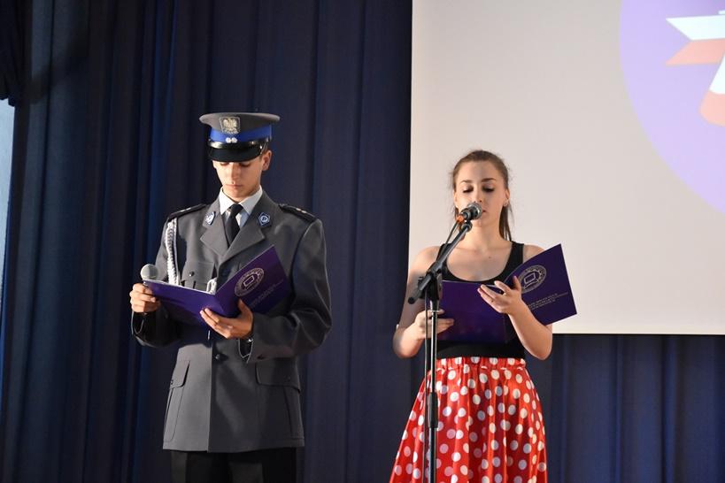 Obchody 100. rocznicy powstania Policji Państwowej w ZSR w Kaczkach Średnich