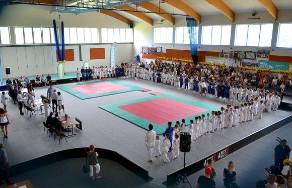Trwa Kasztelania Judo Cup 2019. W Brudzewie...