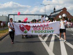 Miasto Turek: Pierwszy w Turku Marsz dla Życia i Rodziny przeszedł ulicami miasta
