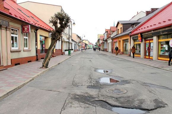 : Nadchodzi modernizacja deptaka na ul. Kaliskiej