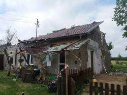 : Niebezpieczna burza przeszła przez powiat turecki - weekendowe...