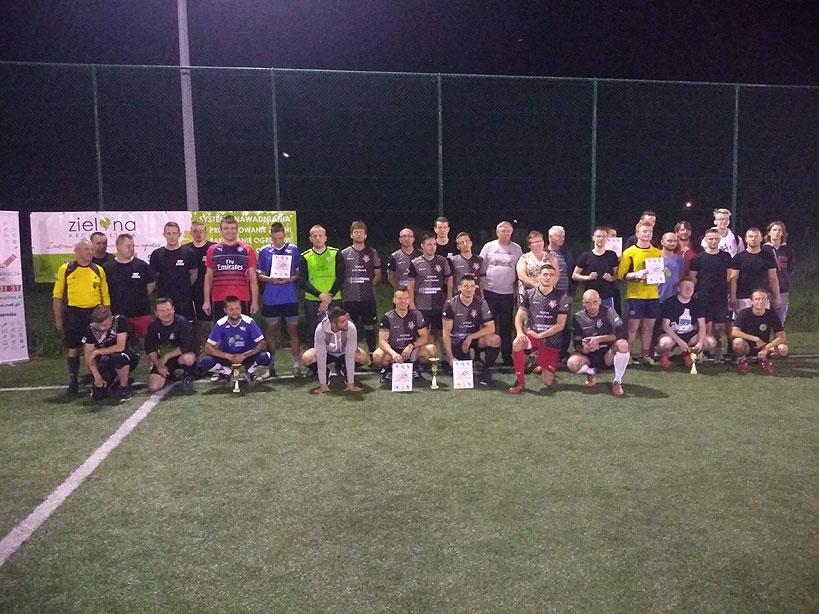 Turniej charytatywny dla Marcina Feliniaka wygrywają Czerwone Diabły