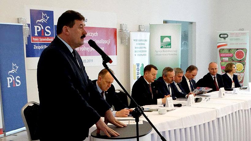 Ryszard Bartosik nowym wiceprzewodniczącym Komisji Rolnictwa i Rozwoju Wsi