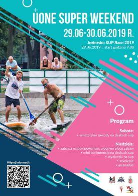 Jeziorsko SUP Race 2019