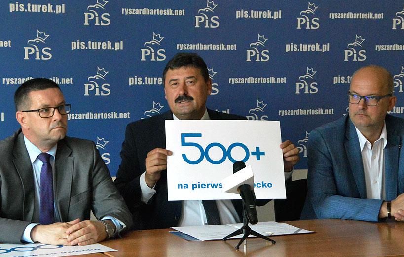 Program 500+ głównym tematem konferencji Ryszarda Bartosika