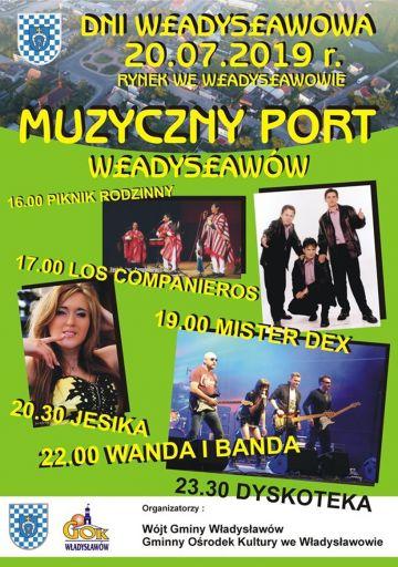 Wakacyjna sobota w Muzycznym Porcie Władysławów - sprawdź, jakie atrakcje na ciebie czekają!
