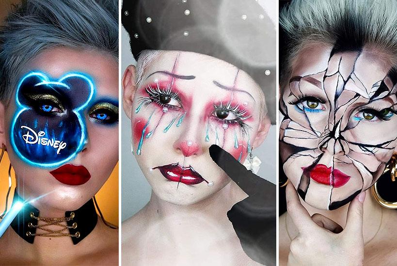 Makijaż i charakteryzacje - pasja, która stała się codziennością oraz pomysłem na życie