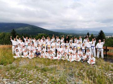 Obóz sportowy karateków z Turku i powiatu