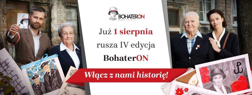 Rusza IV edycja programu BohaterON - wyślij swoją kartkę do Powstańca