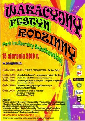 Wakacyjny Festyn Rodzinny