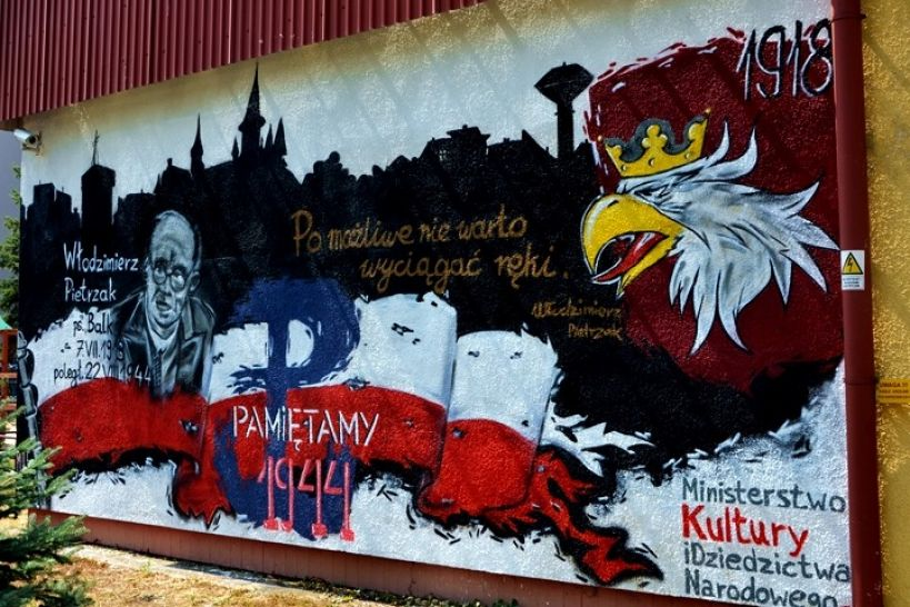 Powstał nowy mural na budynku Miejskiej Biblioteki Publicznej w Turku - Źródło: Miejska Biblioteka Publiczna w Turku