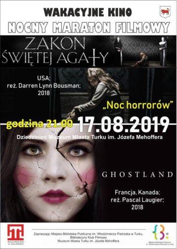Nocny maraton filmowy na dziedzińcu Muzeum w Turku