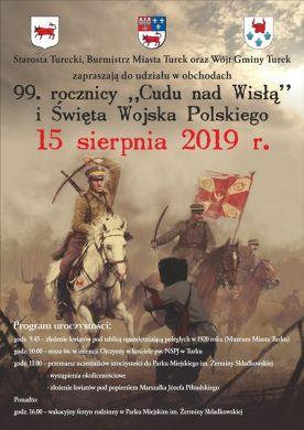 99 rocznica Cudu nad Wisłą - Święto Wojska Polskiego