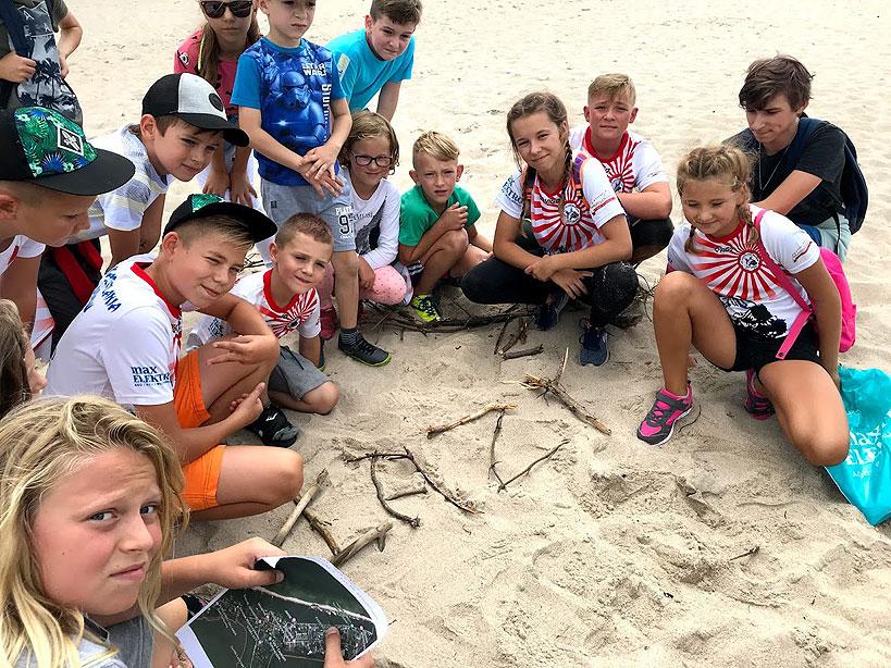 Aktywny wypoczynek zawodników z Kasztelani Brudzew oraz Judo Turek nad morzem