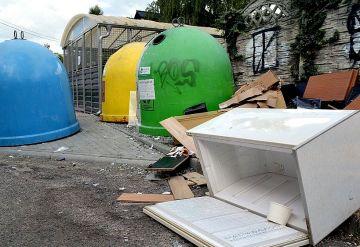 Odbiór odpadów wielkogabarytowych na terenie...