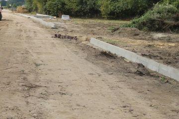 Wyczekiwana budowa ulicy Leśnej trwa w najlepsze - źródło: fanpage