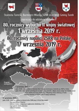 Obchody 80. rocznicy wybuchu II wojny światowej i napaści ZSRR na Polskę