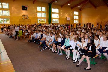 Rozpoczęcie roku szkolnego w SP1 TUREK