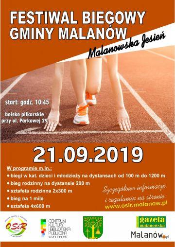 Festiwal Biegowy Gminy Malanów