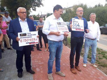 Wideo: Rusza budowa ulicy Zdrojki Lewe. Powiat otrzymał ponad 6 mln dofinansowania z FDS