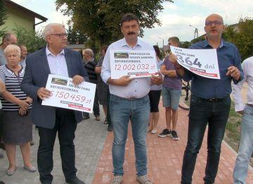 Wideo: Rusza budowa ulicy Zdrojki Lewe. Powiat...