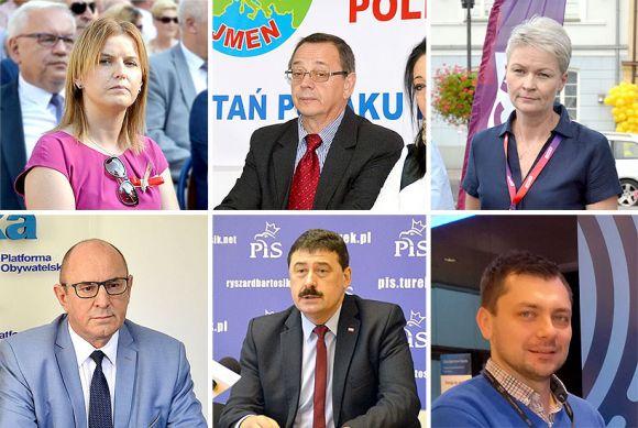 Najważniejsza 6-tka kandydatów do Sejmu z powiatu tureckiego....