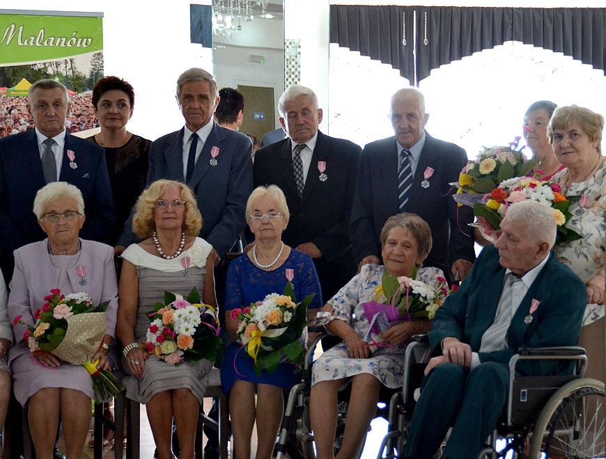 Złote gody par małżeńskich z gminy Malanów