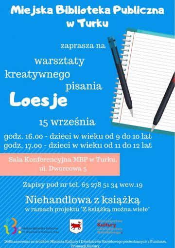 Kreatywne zabawy językowe w bibliotece już 15 września
