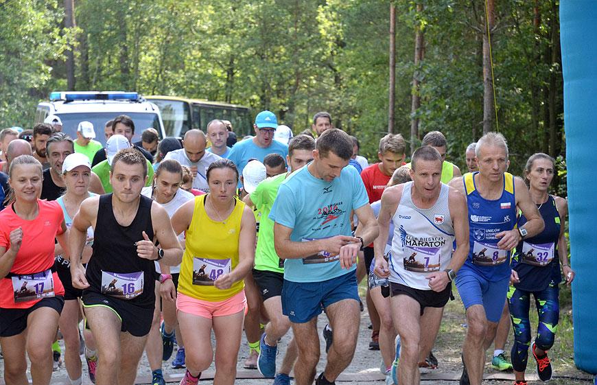 Gm. Turek: III edycja Słodkowskiej Dychy za nami. 53 biegaczy pobiegło leśnymi ścieżkami. - foto: MS