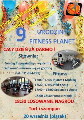 9 urodziny Fitness Planet