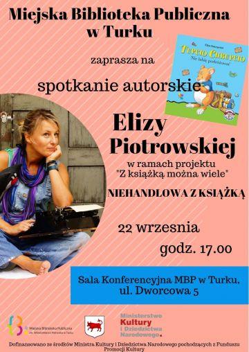 Spotkanie z Elizą  Piotrowską