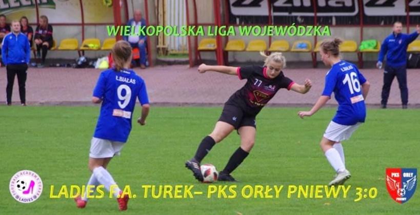 Dziewczyny z LFA Turek zwyciężyły w kolejnym meczu - źródło: LFA Turek