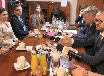 Wideo: Pierwsze robocze spotkanie w sprawie...